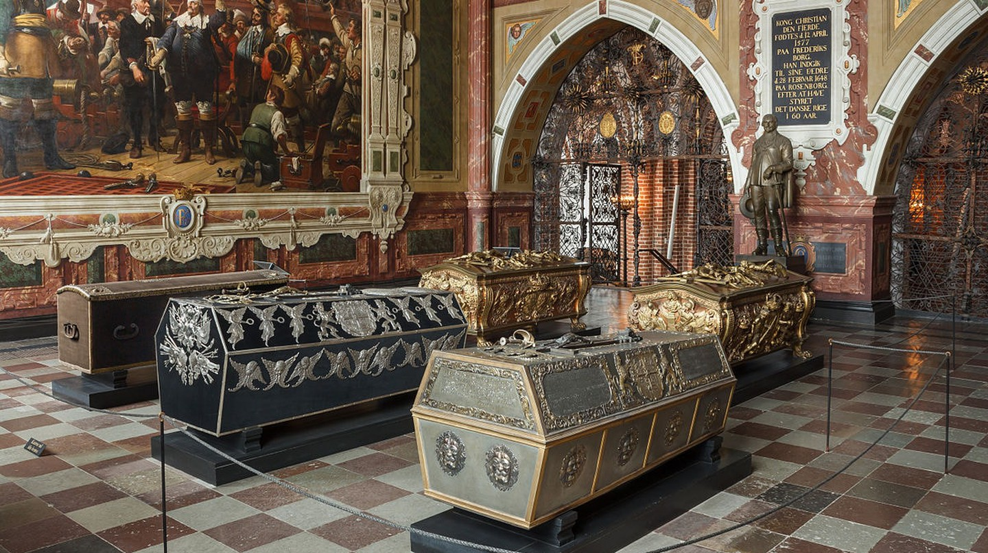 Christian IV's burial chapel at Roskilde Cathedral