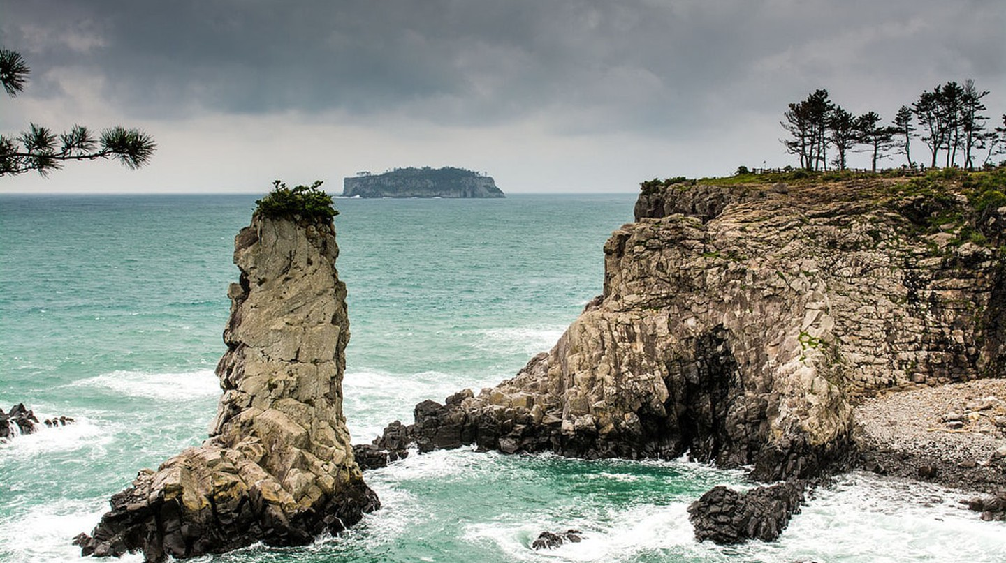 Jeju, South Korea. The island is known for its breathtaking scenery