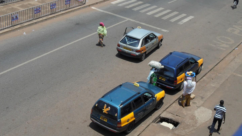 Taxis in Ghana