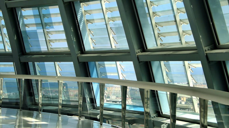 Inside Torre Agbar
