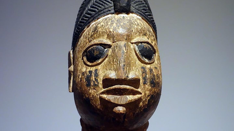 Nigerian Yoruba god mask