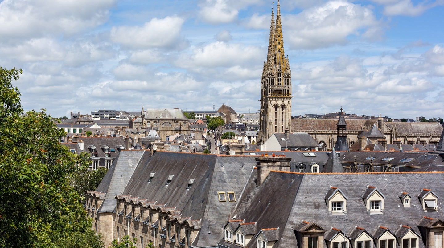 The city of Quimper