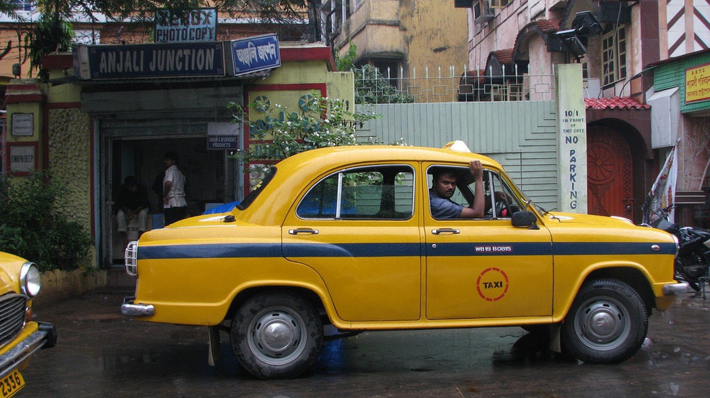 Kolkata's ubiquitous yellow taxis