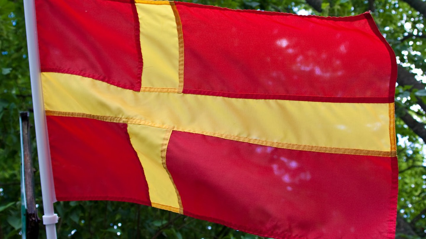 The Skane flag is everywhere across the region | © Håkan Dahlström / Flickr
