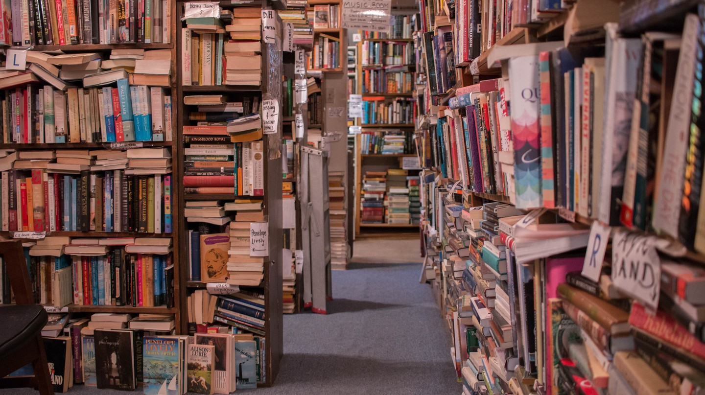 Dig for an amazing used-new read at Capitol Hill Books in Washington, D.C.