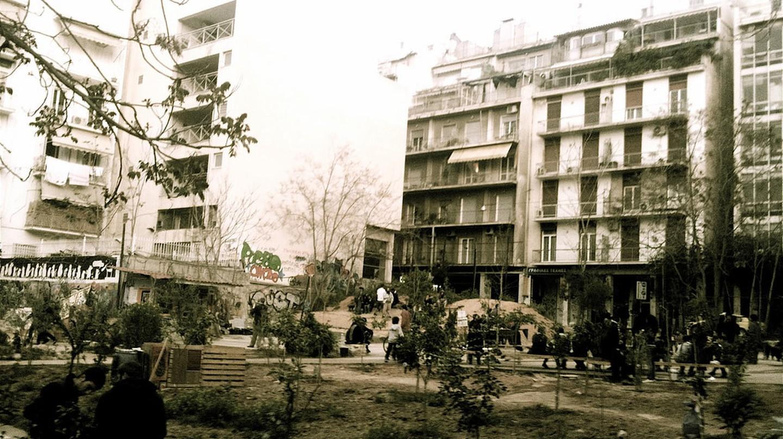 Navarinou Park, Exarcheia, 2010