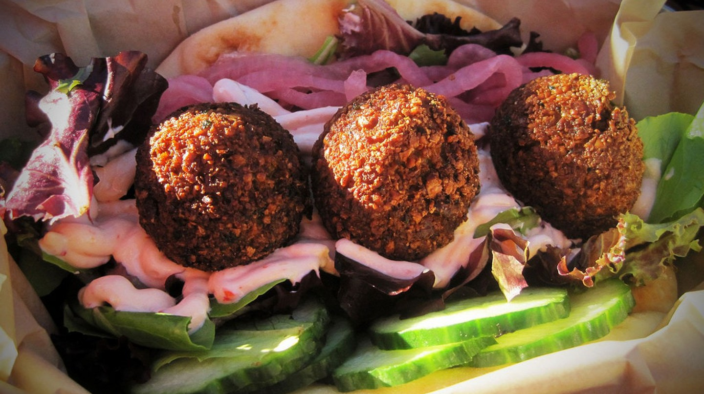 Falafel Sandwich in Berlin |© apasciuto/Flickr