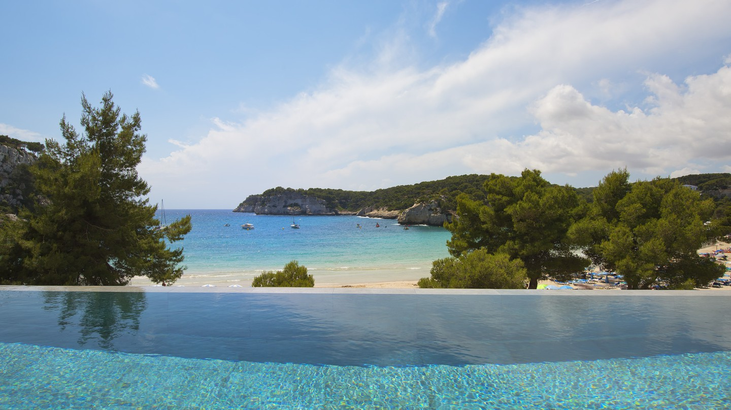 The Level pool at Melia Cala Galdana