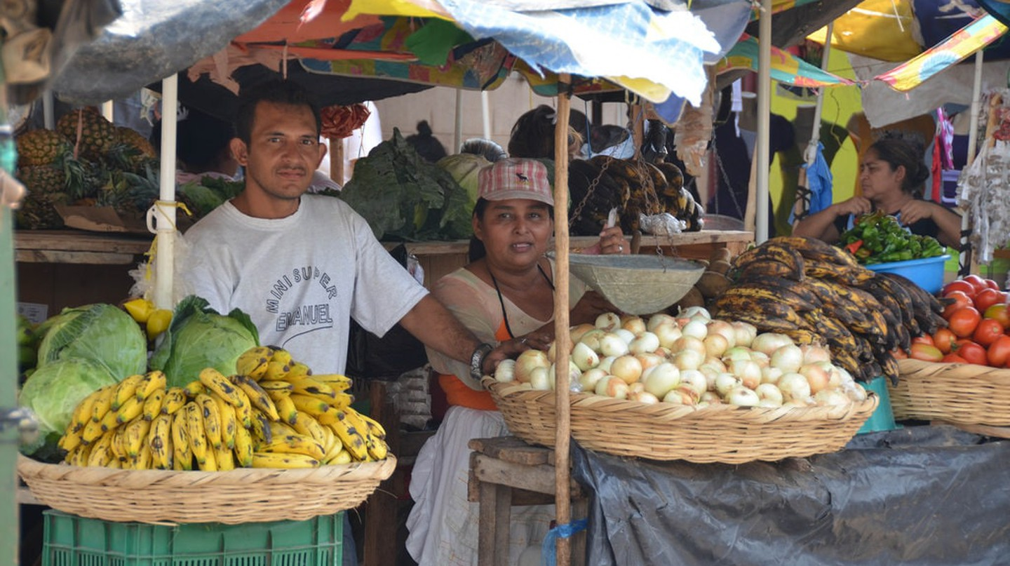 Market day in Nicaragua