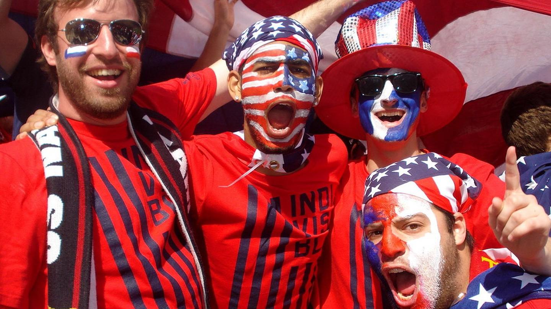 American soccer fans | © David Wilson/Flickr