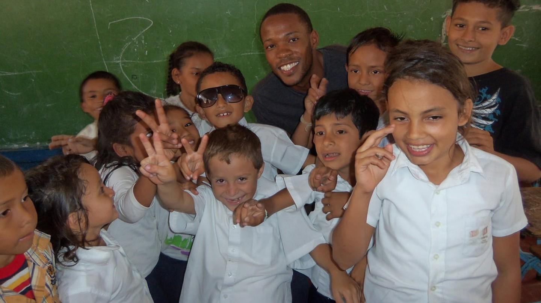 Nicaraguan school children