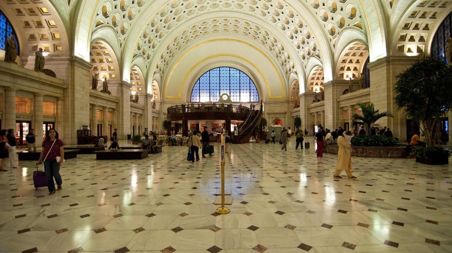 The main hall of Union Station