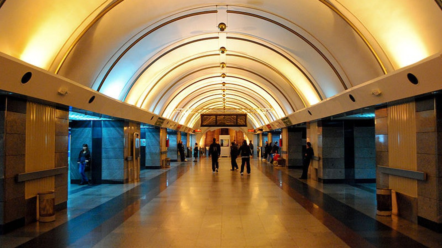 The underground station at Vukov Spomenik