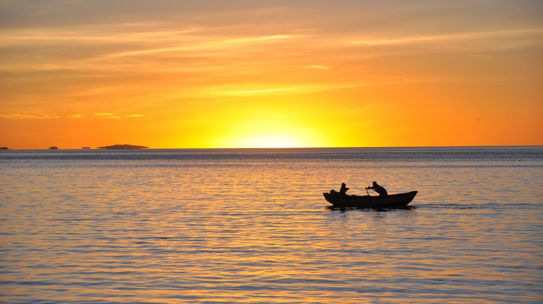 Sunset Lake Titicaca | © Richard/Flickr