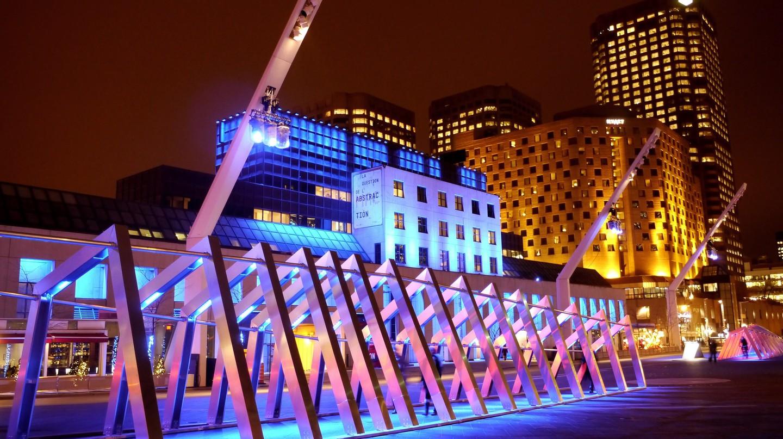 Place des Arts next to the Musée d'art contemporain de Montréal