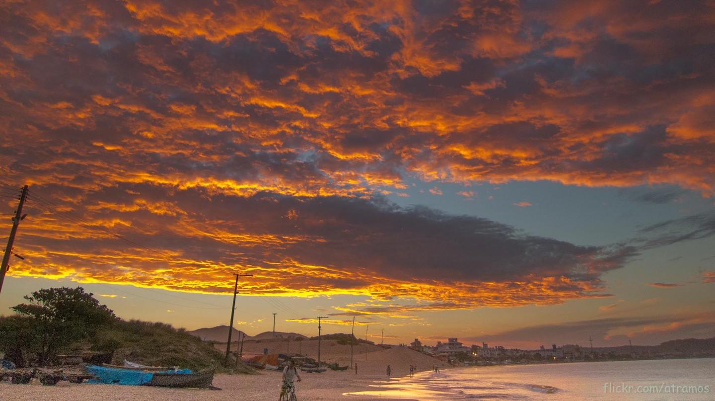 Glowing Floripa sunset