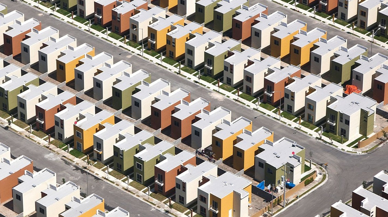 "An aerial photograph from the ""Alta Densidad"" series | © Jorge Taboada"