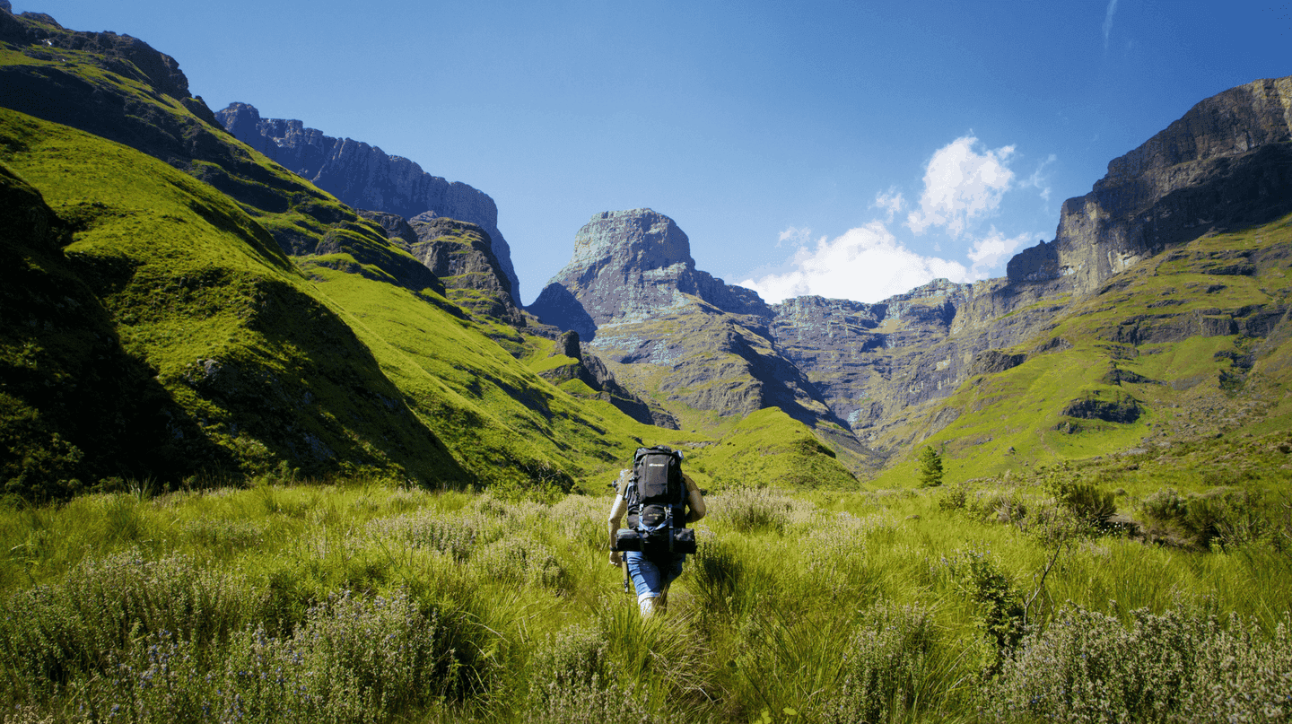 Hiking the Drakensberg Mountains