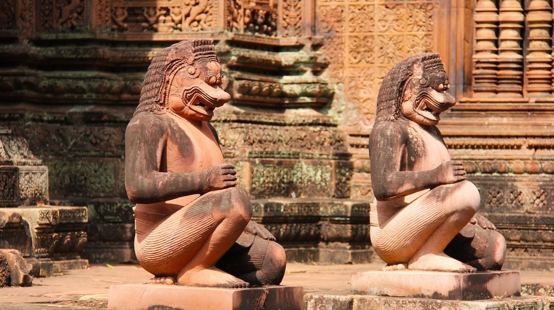 Banteay Srei temple in Siem Reap