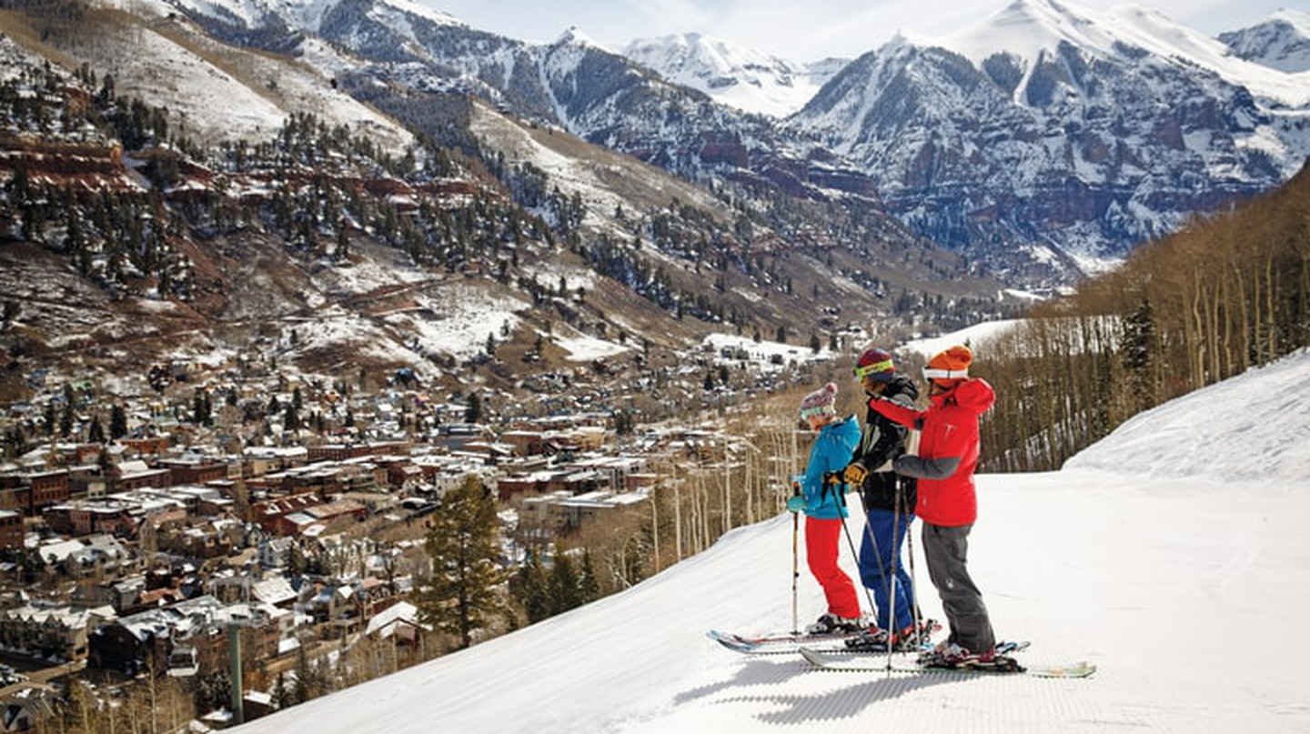 Telluride Ski Resort offers some of the best skiing and winter sports in Colorado.