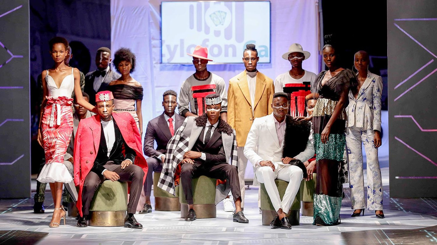 Telvin Nwafor (Nigeria) at Accra Fashion Week C/R18