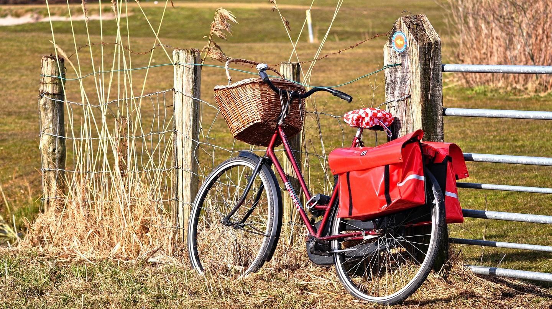 Bike in a countryside setting