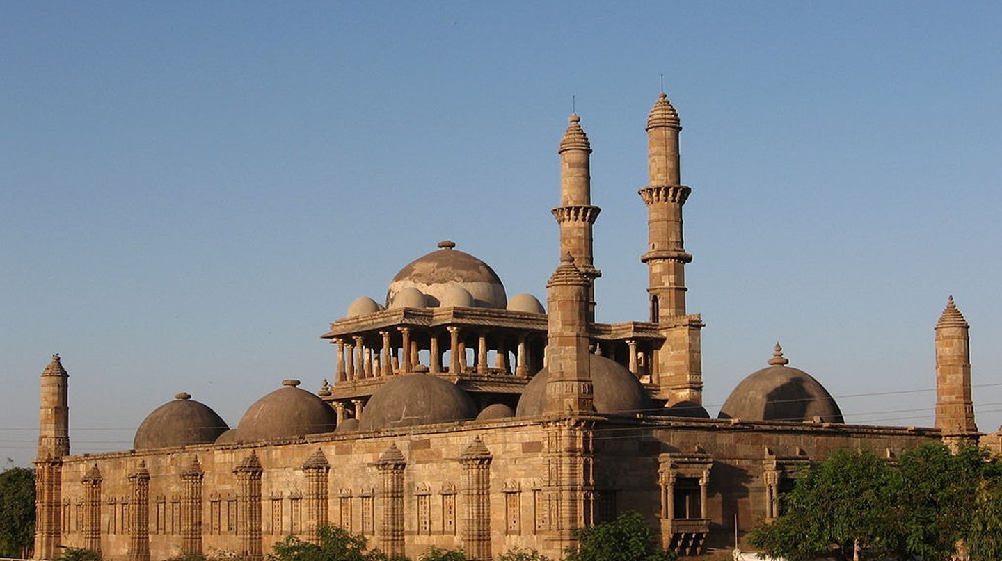 Jama Masjid in Champaner-Pavagadh Archaeological Park