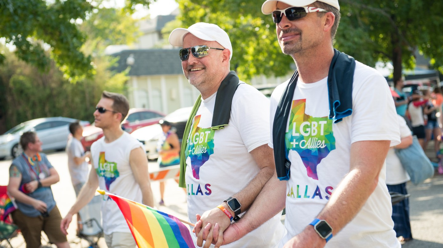 Dallas Pride is one of the biggest events in Oak Lawn.