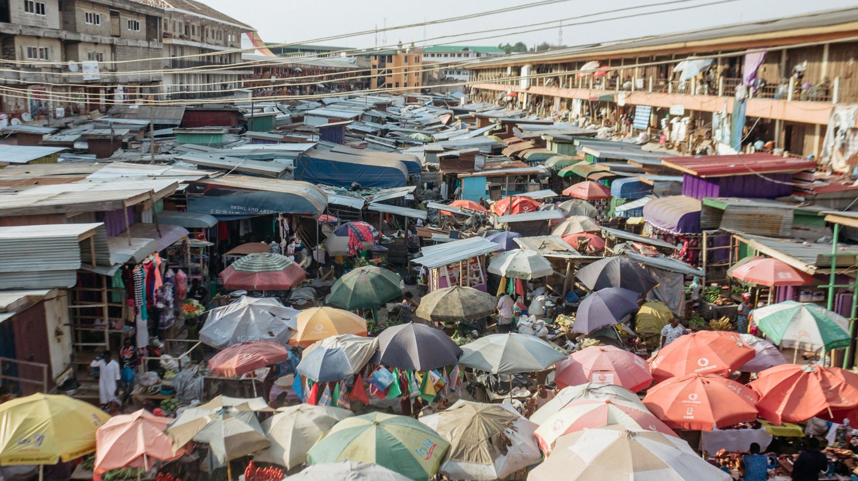 Kumasi Central Market, Ghana