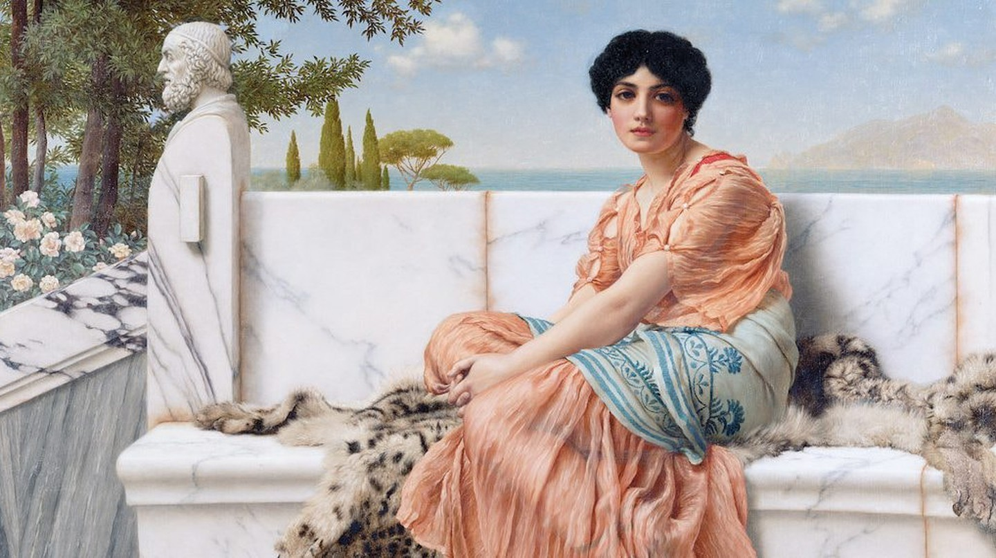 Reverie (In the Days of Sappho) by John William Godward