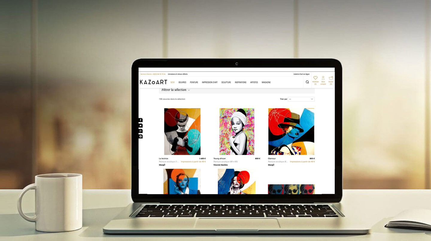 Kazoart, the online platform that gives everyone access to art