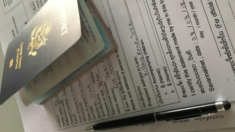 Lao Visa Form