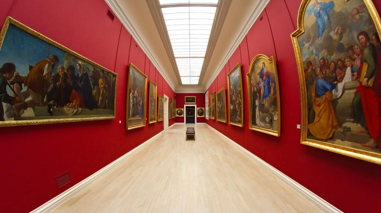 Inside the Musée des Beaux-Arts de Rouen