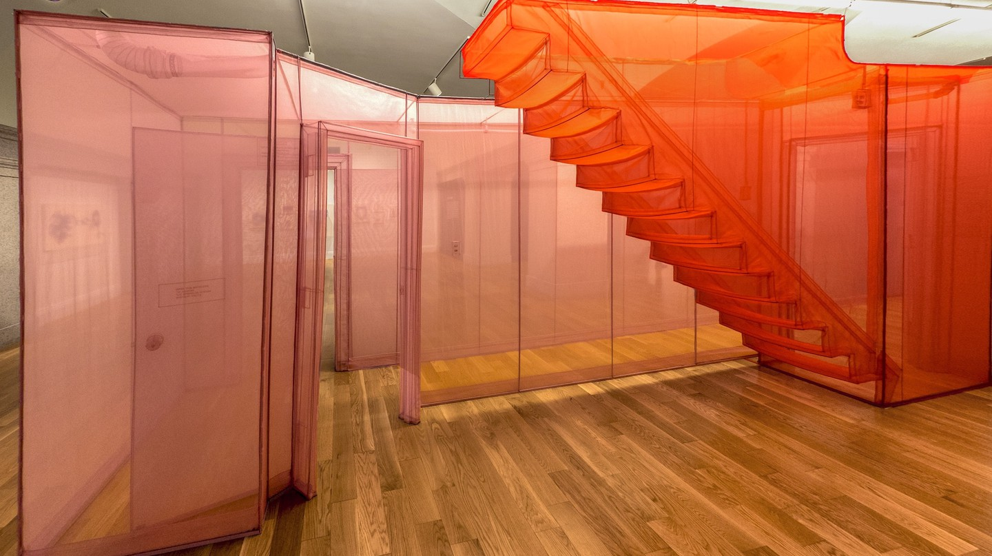 Installation shot of 'Do Ho Suh: Almost Home', Smithsonian American Art Museum, 2018