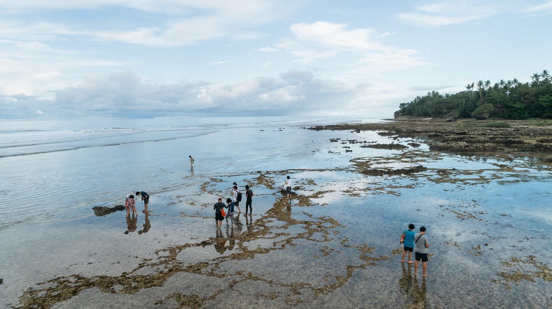 Cloud 9 beach, Siargao, Phillipines