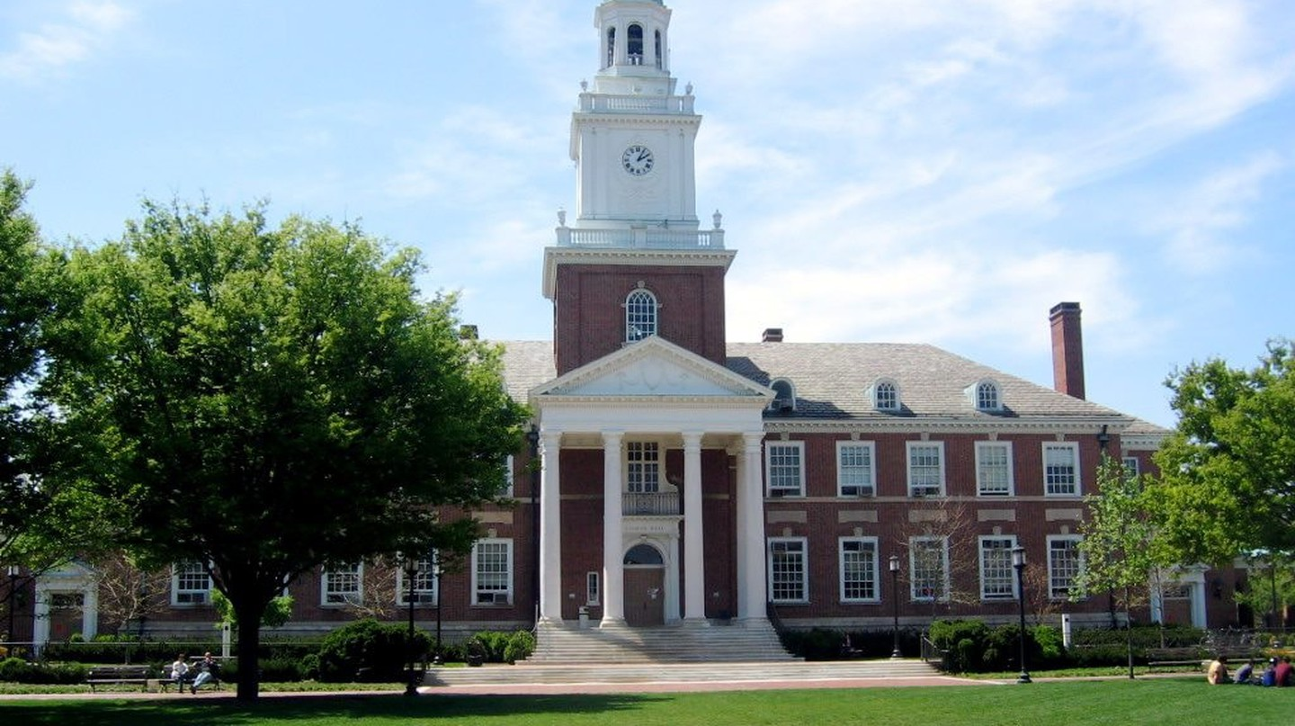 Gilman Hall, Johns Hopkins University, Baltimore, Maryland