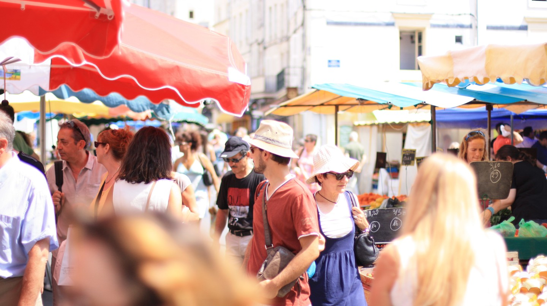 Shopping at La Rochelle's markets