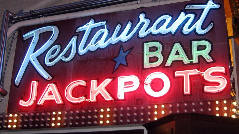Neon sign on Fremont Street, Las Vegas
