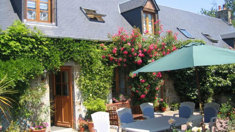 Front terrace of Les Sabots