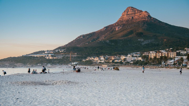 Lion's Head from Clifton Beach, Cape Town