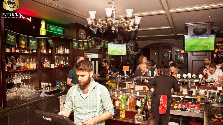 Patrick's Irish Pub, Rothschild Boulevard, Tel Aviv