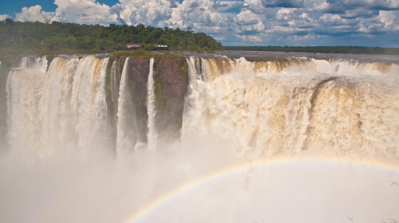 The stunning Iguazu Falls in Misiones, Argentina