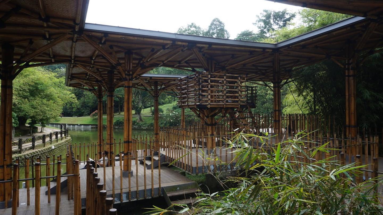 Bamboo Playhouse, located in Kuala Lumpur's Botanical Garden