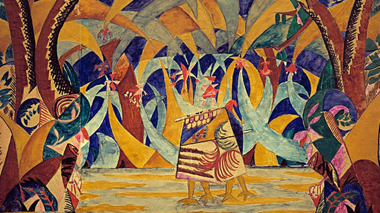 Russian Tales by Larionov | © Wikimedia Commons