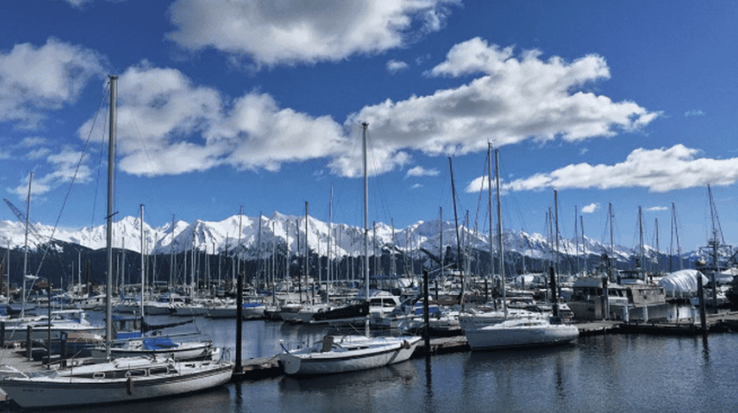 Seward Harbor | © Bailey Berg / Instagram