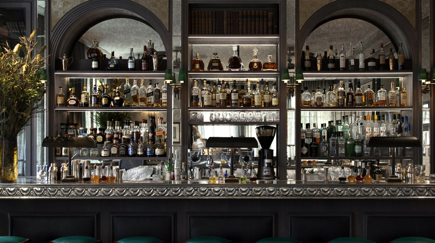 The Library Bar at the Norman Hotel, Tel Aviv