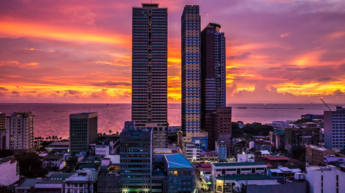 Skyscrapers and towers in Manila, Philippines