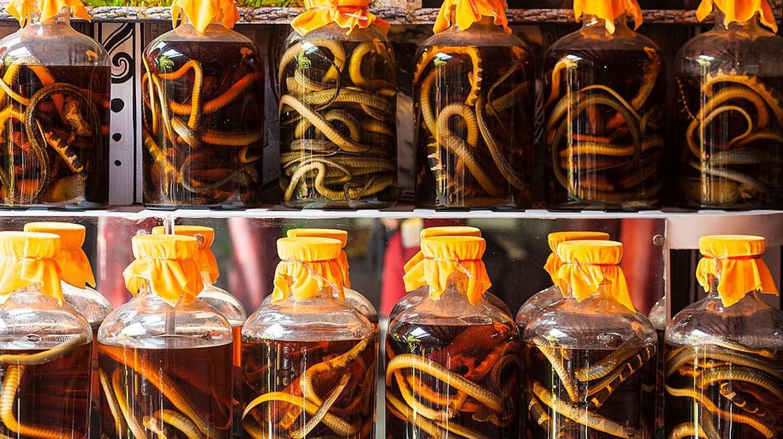 Snake wine | © Jacek Karczmarczyk / Wiki Commons