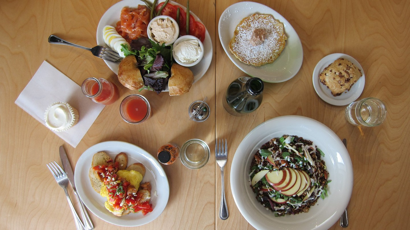 Dig into a hearty brunch