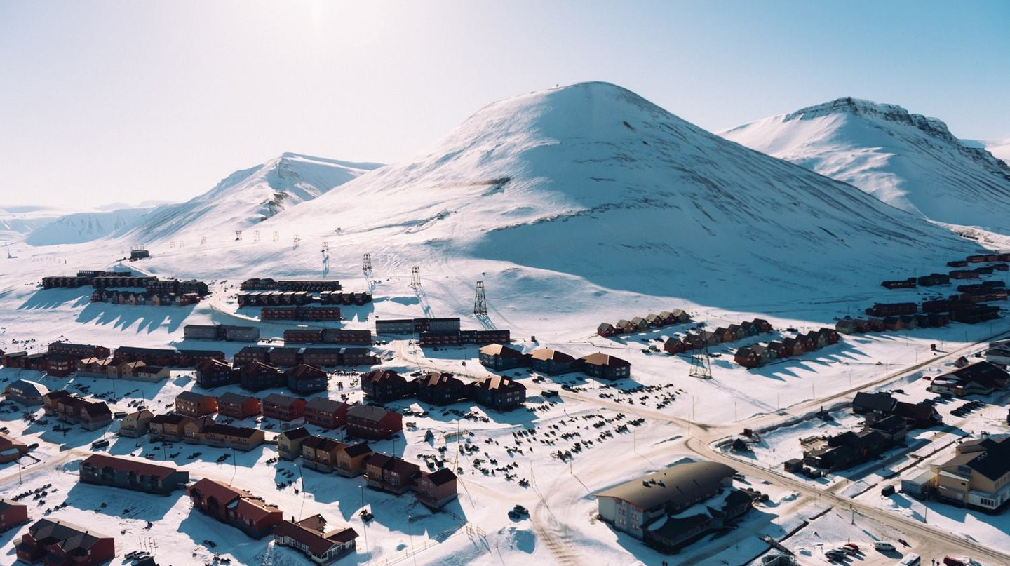 The northernmost city of Longyearbyen